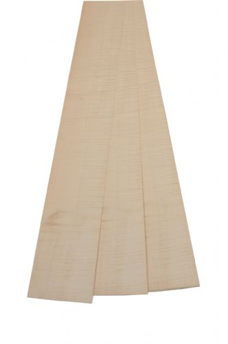 "Figured Sycamore veneer. 8ft 2"" x 7"" ( 250 cm x 17 cm )"